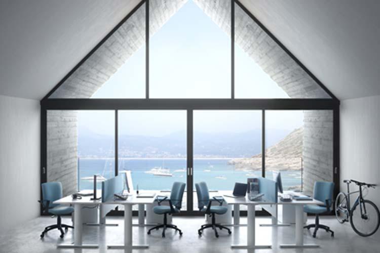 image 3D bureau architecture