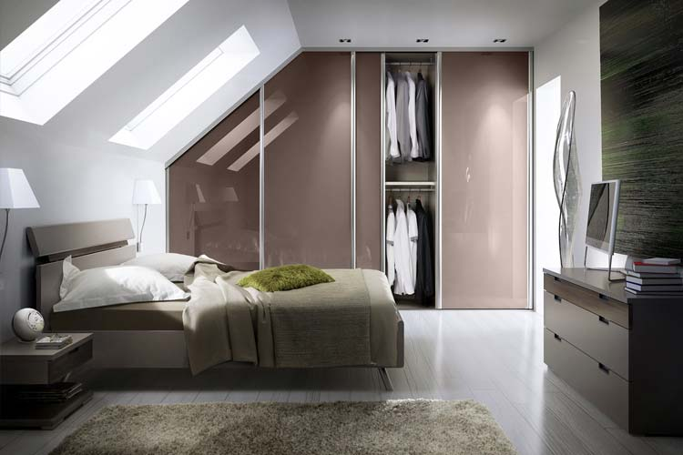 image 3D chambre dressing