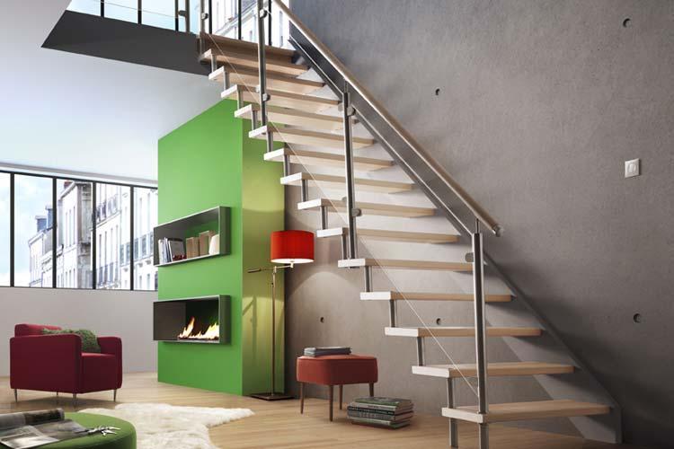 image 3D escalier
